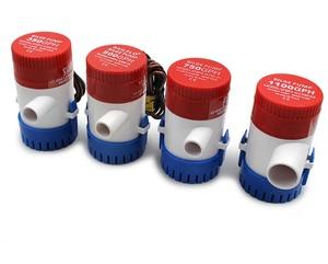 Image 4 - Bomba elétrica de bilge, bomba de água submersível para aquário, 350 500 1100gph dc 12v 24v, 750 barcos em casa