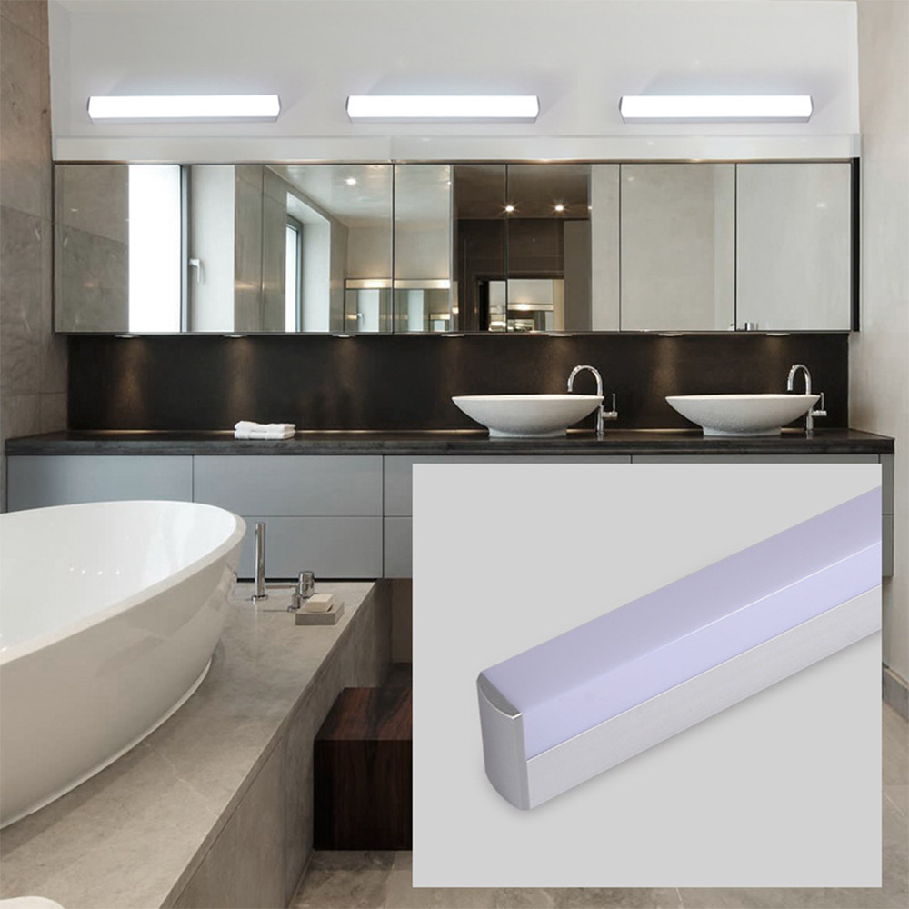 Super Bright 12W 16W 22W Long Strips LED Mirror Light Simple Style Indoor Decor Wall Lamp For Bathroom Bedroom Kitchen
