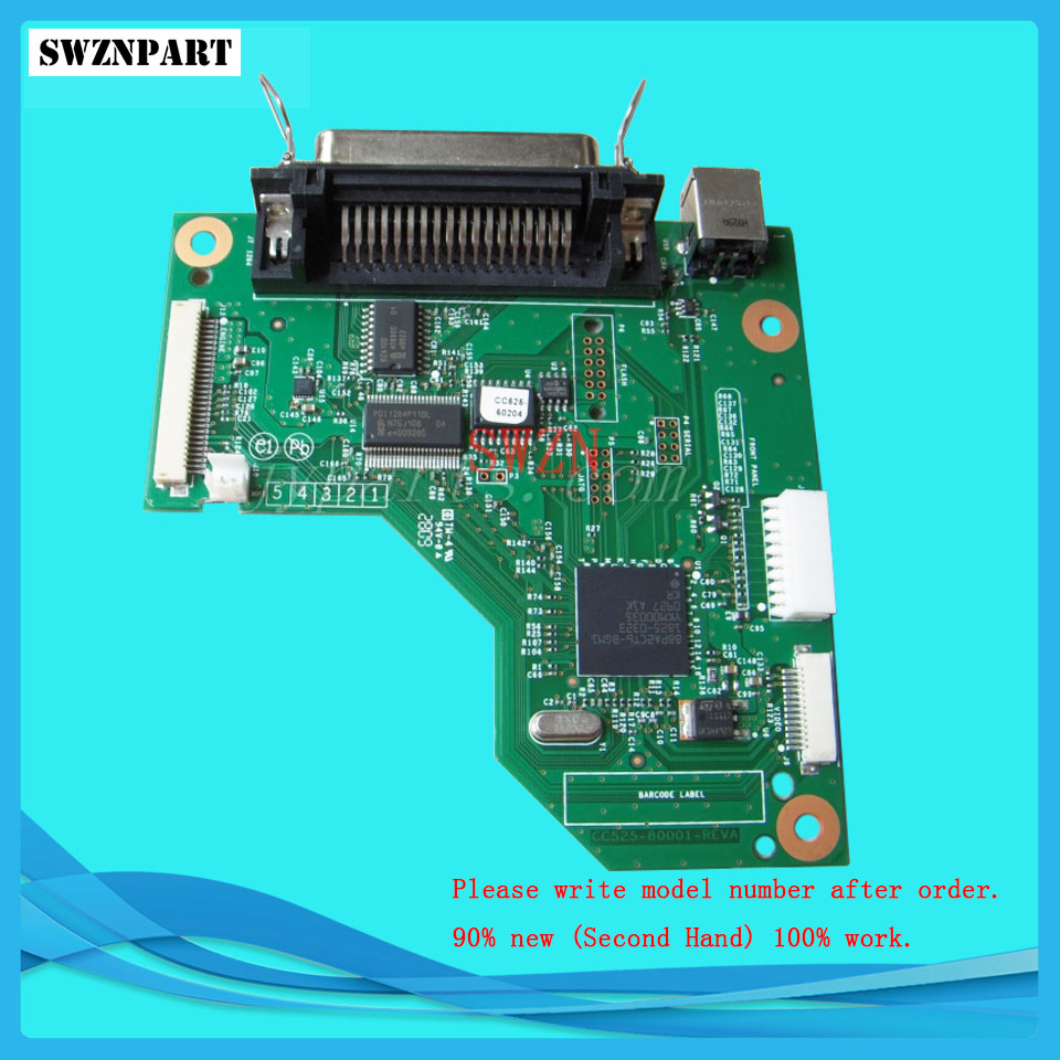 FORMATTER PCA ASSY Formatter Board logic Main Board MainBoard mother board for HP P2035 P2035D CC525-60001 formatter pca assy formatter board logic main board mainboard mother board for hp m525 m525dn m525n 525 cf104 60001