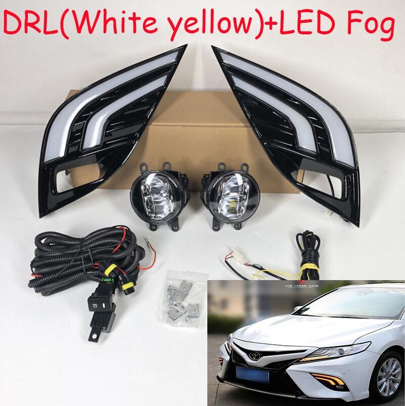 LED vidéo dynamique, 2018 2019 Camry, feu de jour Aurion, accessoires de voiture, vios, altis, feu arrière camry