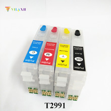 29 29XL Refillable Ink Cartridge For Epson T2991 - T2994 Expression XP-235 XP-332 XP-335 XP-432 XP-435 Printer Auto Reset Chip