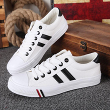 New Low-cut Couple Canvas Shoes Korean Version of the Tide S
