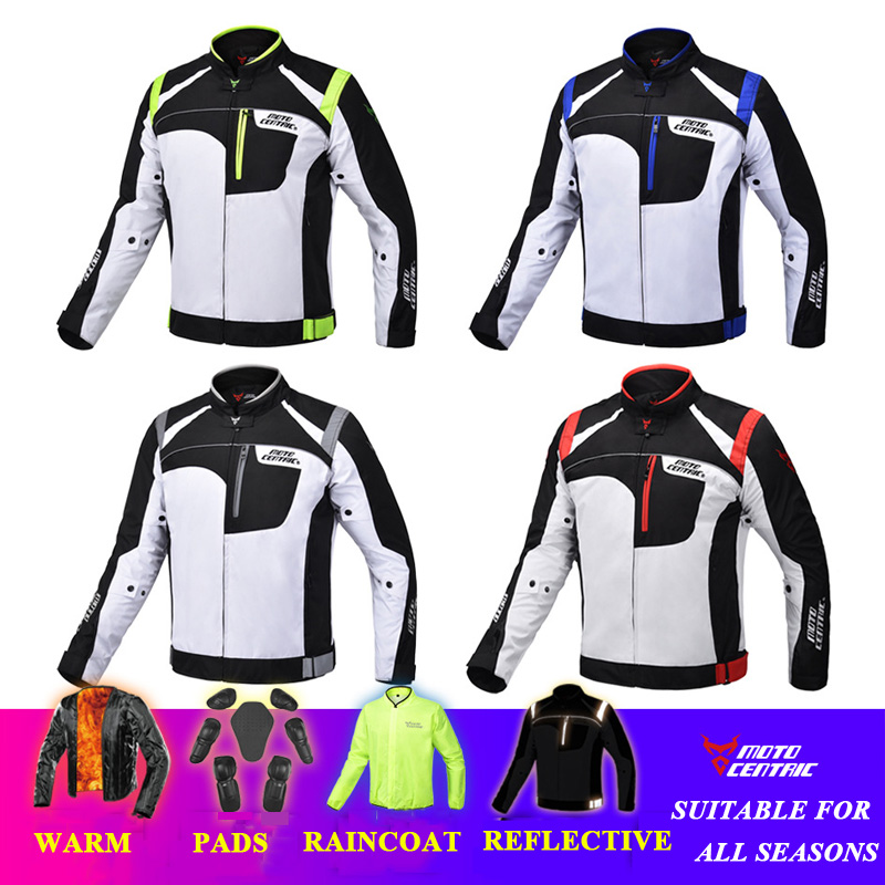 MOTOCENTRIC Motorcycle Jacket Motocross Pants Racing Protective Gear Waterproof Chaqueta Moto Motoqueiro Pantalon Moto Raincoat