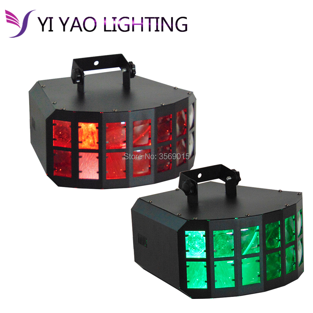 2PCS/LOT LED DJ Disco KVT Party Effect Light 2X10W RGBW 4In1 LED Double Butterfly2PCS/LOT LED DJ Disco KVT Party Effect Light 2X10W RGBW 4In1 LED Double Butterfly