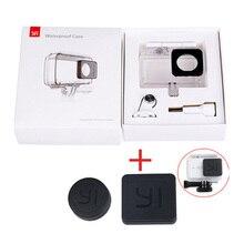 New arrival Diving Waterproof Case for Original Xiaomi YI Action Camera Housing Xiaoyi II 2 4K Case Xiao mi YI 4K 2 accessories все цены