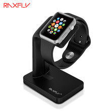 RAXFLY Black Sliver Stand Holder For Apple Watch Dock For iWatch Aluminium Alloy Stable Holder For Apple Watch Stand Watch IOS
