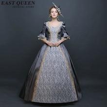 Платье 18-го века, современный средневековый фестиваль Ренессанса, карнавальный костюм, платье, готические вечерние платья принцессы KK1212