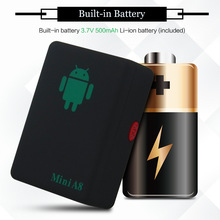 Mini A8 GSM/GPRS/LBS Not Gps Tracker Rastreador Tracker Glob