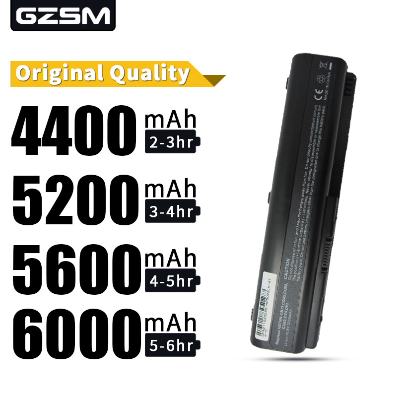 HSW 5200MAH 6cell Laptop Battery For HP Pavilion DV4 DV5 DV6 CQ40 CQ41 CQ45 CQ50 CQ60 CQ61 QC70 CQ71 G50 G60 G70 G71  battery