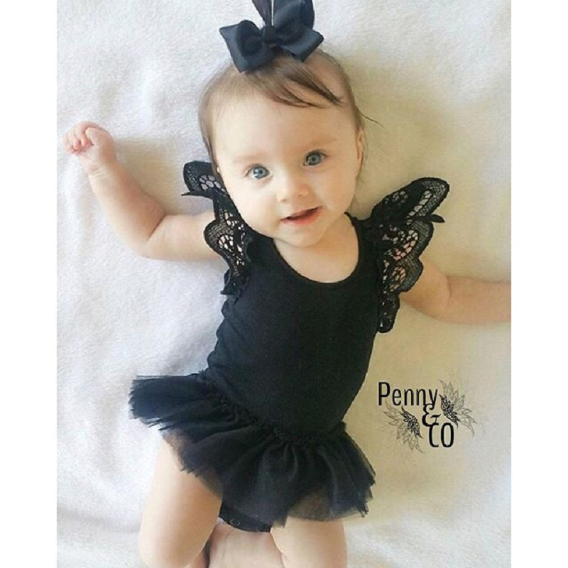 Baby Romper Body Ropa Infant Girls Clothing Butterfly bow princess baby girls costume tutu romper NewBorn Baby Dress Clothes lace red girls dress rose tutu dress for wedding clothes with bow knot infant girls clothes white light pink baby clothing 2017