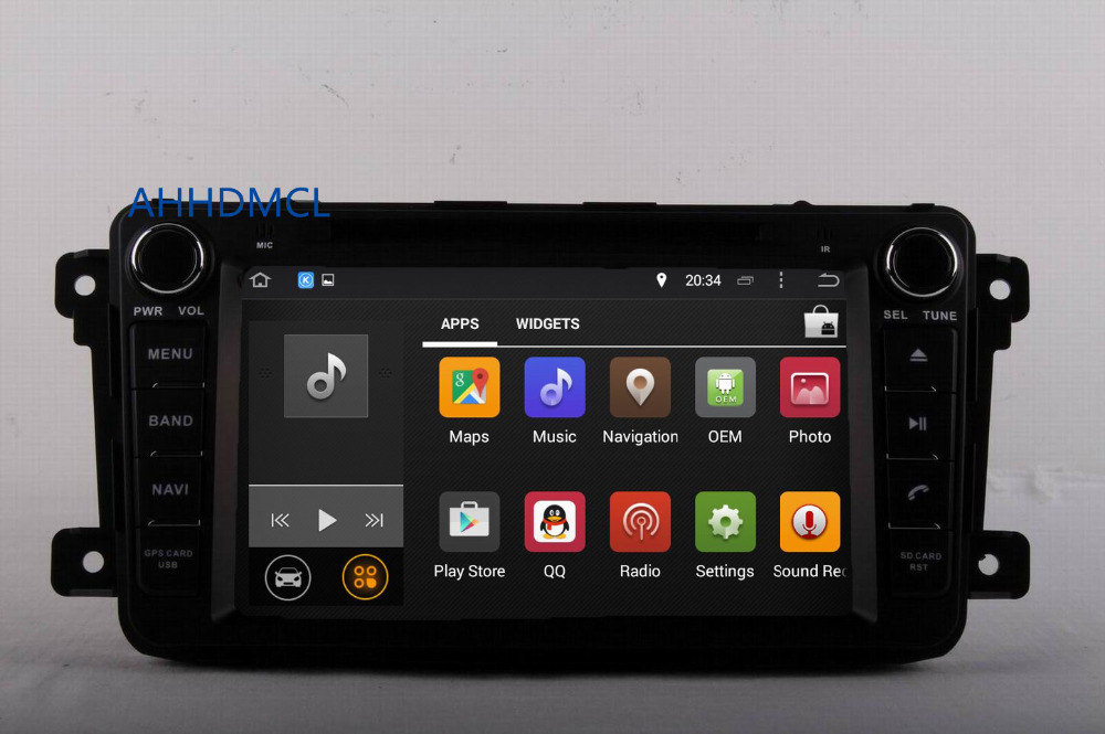 Sale AHHDMCL Car Multimedia Player Stereo Radio DVD Android 9.0 Navigation For Mazda CX-9 2007 2008 2009 2010 2011 2012 2013 ~Up 3