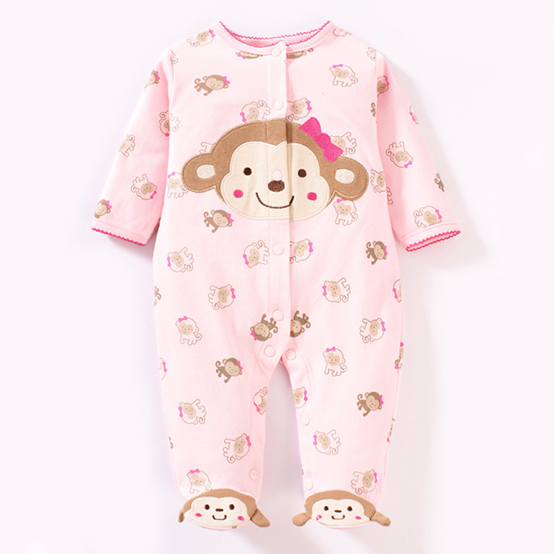 Baby rompers 2017 new arrival cotton infant clothing long sleeve baby boy and girl body jumpsuit ropa bebe newborn clothes baby overalls long sleeve rompers clothing cotton dog anima 2017 new autumn winter newborn girl boy jumpsuit hat indoor clothes