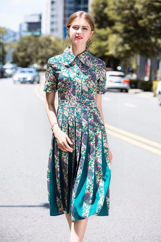 Europeo 2019 Moda Diseño Kah03147 Mujeres Nuevo Vestido Lujo Estilo Las Calidad Fiesta Primavera La De Alta z0F7zx