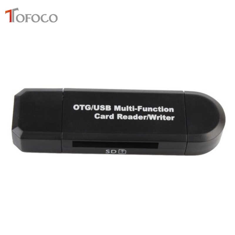 Image 3 - Type C & micro USB & USB 3 In 1 OTG Card Reader High speed USB2.0 Universal OTG TF/SD for Android Computer Extension Headers-in Card Readers from Computer & Office
