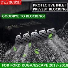 Assento Plástico ABS Sob Piso De Calor do Duto de Ar Condicionado Saída de Ventilação Cobertura para Carcaça Guarnição Interior Para Ford Kuga/Fuga 2013-2018