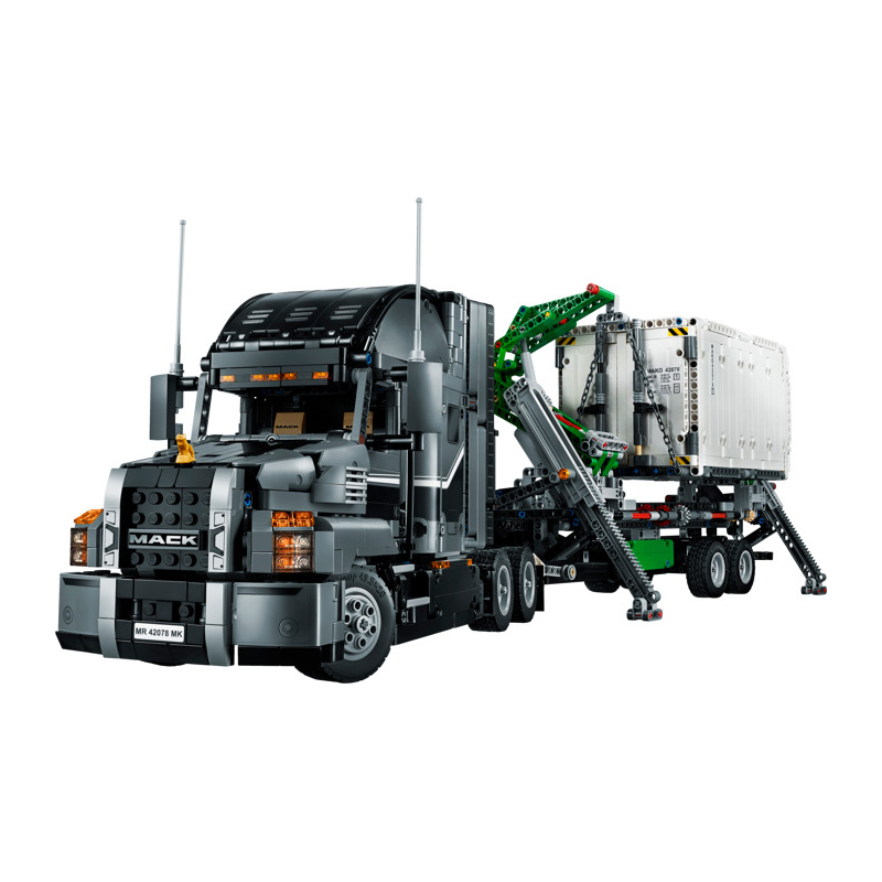 Lepin 20076 Technic Series 2907Pcs The Mack Big Truck Set compatible 42078 Building Blocks Bricks Toys For Children Gifts new lepin 16009 1151pcs queen anne s revenge pirates of the caribbean building blocks set compatible legoed with 4195 children