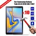 10 stücke Großhandel 9 H Gehärtetem Glas Tablet Screen Protector Für Samsung Galaxy Tab A2 10 5/Tab S4 10 5 /Tab EINE 8 0 2018 Film|Tablet-Display-Schutzfolien|   -