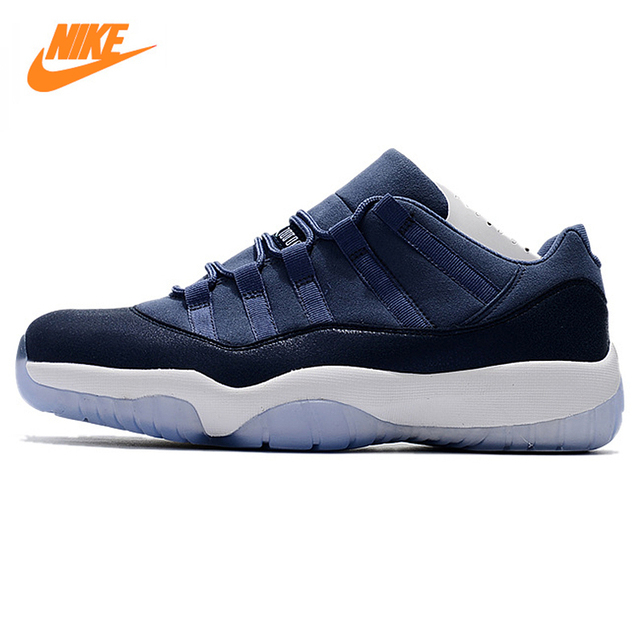 online retailer 8ee5c 7e2c2 ... reduced nike air jordan 11 retro low gg aj11 mens basketball shoes dark  blue shock 42819