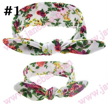 free shipping 50set Mommy and Me Top Knots Headwrap Set Topknot Headband Mom and Me Headbands Mom and Daughter turban set