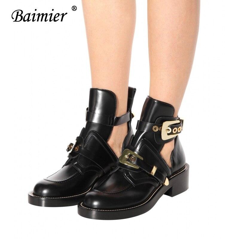 Las Lujo Marca De Tamaño Talón Calle Boots silver Oro Hebilla Plata Mujer 43 Gold Baimier Buckle Estilo Bajo Botas Boots Para Mujeres Invierno La Tobillo xpIq80n