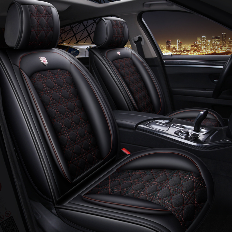 Car Seat Cover Auto Seats Covers for mercedes benz m class <font><b>ml</b></font> <font><b>350</b></font> ml320 W163 <font><b>W164</b></font> w166 gle GLE43 GLE63 GLE63S image