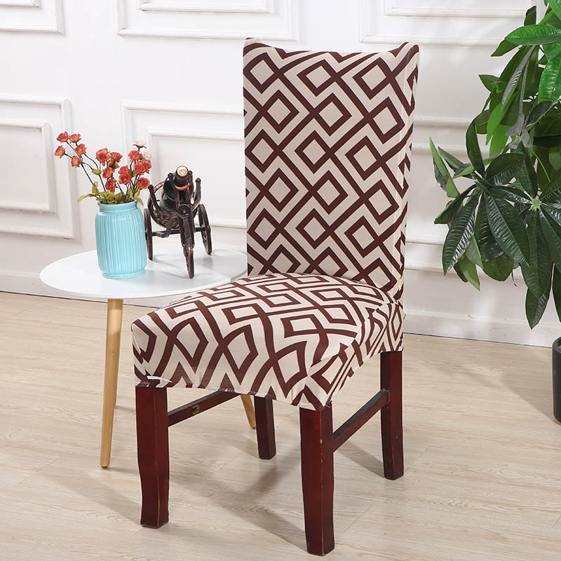 Marvelous Stretch Spandex Dining Room Chair Cover Removable Seat Chair Bralicious Painted Fabric Chair Ideas Braliciousco