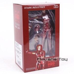 Image 5 - Super héros Stark Industries, x faction, dame Pepper Potts en PVC MK8, jouet modèle à collectionner