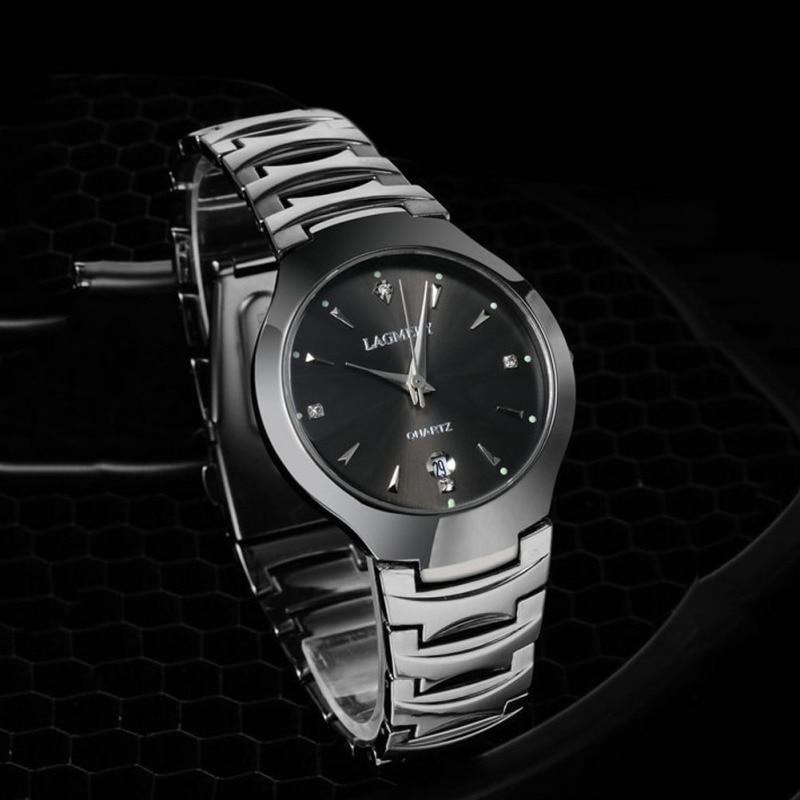 1pc 100m Swim Diving Tungsten Steel Quartz Wristwatches Men Student Male Sports Watches Clocks Gift Relogio