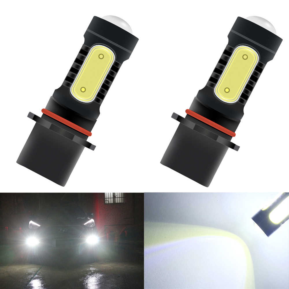 1pc Car P13W PSX26W 7.5w Daytime Running Lights 5000k Car Super Bright Car Fog Light Driving DRL Daytime Running Lamp Auto