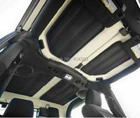 2 doors / 4 doors Car Accessories 4pcs Per Set Sound Deadener tHard Top Insulation Kit FoR Jeep Wrangler JK 2DOORS 2012 Up