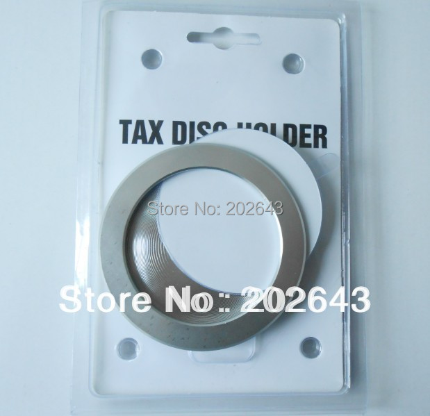 "GV-TDH0032,anodized to slver  for tax disc holder ,""slot-in""  new style ,support wholesale , MOQ 500PCS"