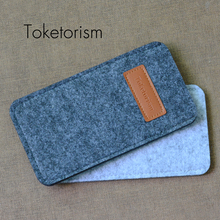 Toketorism New fashion woven feltbags sunglasses bags cases for eyegalsses retails glasses accessories B1