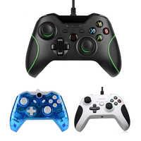 Mando con cable USB para Xbox One Mando delgado de videojuego para Microsoft Xbox One S Mando con Mando para Windows PC