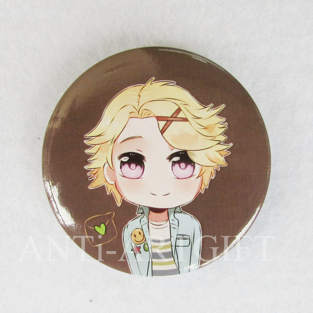 Custom design customized size offset printing logo 50mm tinplate pins carton cool boy button badges high quality cheap price