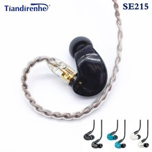Hi-FI MMCX SE215 stereo Noise Canceling 3.5MM In ear Earphones With Separate Cable headset For Shure SE215 SE535 headphone used original genuine earphone for in ear shure se215 noise sound isolating