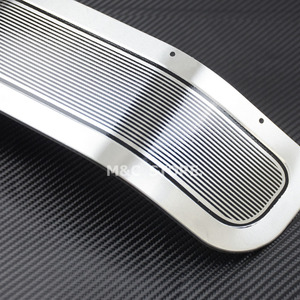 Image 3 - Motorcycle Front Fender Skirt Trim Cover Chrome For Harley Touring Road King Electra Glide Ultra Limited Tri Glide FLHR 2014 17