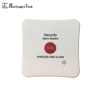 SOS Button Alarm System for Gem Store GSM Alarm with Emergency Alarm Button for Jewelry Shop 433MHz Home Alarm House Security gold color emergency alarm button 86 86mm fire alarm emergency switch alarm access control switch with key