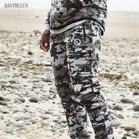 DANT BULUN 2017 Camouflage Tactical Pants Mens Joggers Camo Pants Mens Sweatpants Army Slim Fit Skinny