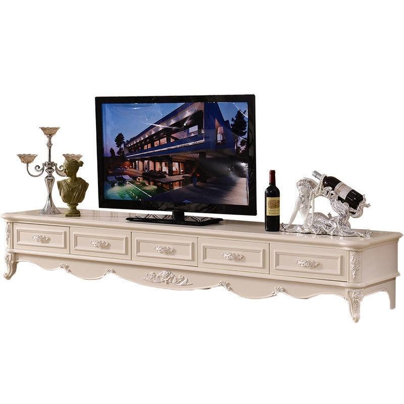 Tele Moderne Table Soporte Para De Entertainment Center European Wood Monitor Mueble Living Room Furniture Meuble Tv Stand