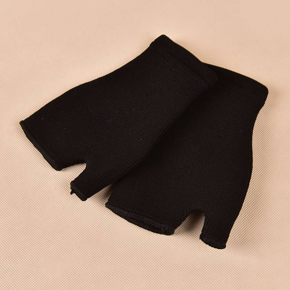 1Pair Wrist Support Bandage Removable Hand Brace Finger Splint Carpal Protection Wrap Glove Elastic Palm Hand Wrist Health Care 2
