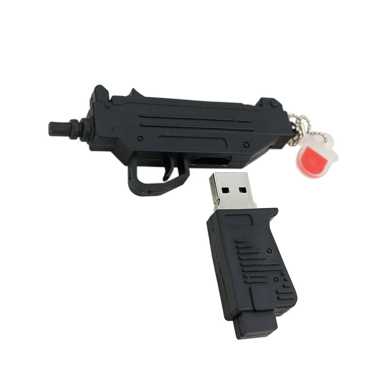 genuine usb flash drive submachine gun memory stick cool pen drive 4gb 8gb u disk 16gb 32gb 64gb. Black Bedroom Furniture Sets. Home Design Ideas