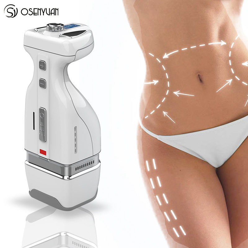 цена на 2018 Newest Mini HIFU RF 2IN1 Slimming Body Belly fat removal Massager handy HelloBody Weight loss slimming machine
