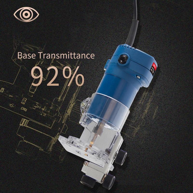 PROSTORMER routeur tondeuse 500 W électrique stratifié bord tondeuse avec sac puissant 6.35 MM mandrin bois tondeuse outils électriques - 3