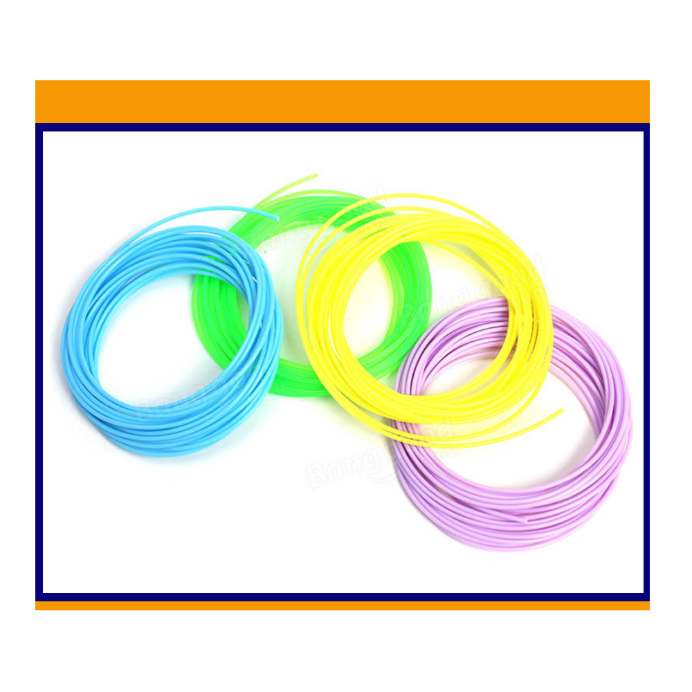 ABS Filament Printing 1.75mm  Materials Plastic 10 Mete  Colorful Rainbow For 3D Printer Pen /5 Pieces (Min. Order) 9