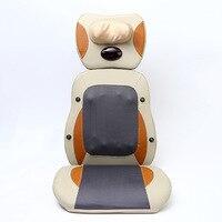 Шейки массаж спины подушки отопления бытовых Многофункциональный Электрический массажер для тела инфракрасный разминающий массаж стул