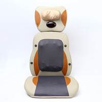 Cervical back massage cushion heating household multi function electric body massager infrared kneading massage chair