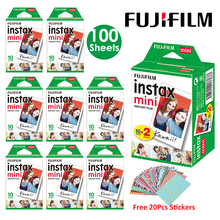 Fujifilm Instax מיני סרט לבן 10 20 40 60 80 100 גיליונות עבור פוג י מיידי תמונה מצלמה מיני 9 מיני 11 8 7s 70 + משלוח מדבקות