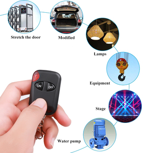 Image 3 - Universal 433MHz Remote Control Wireless 2 Button For Gate Garage Door Keychain Duplicator 2 Keys RF Remote Controller Latest