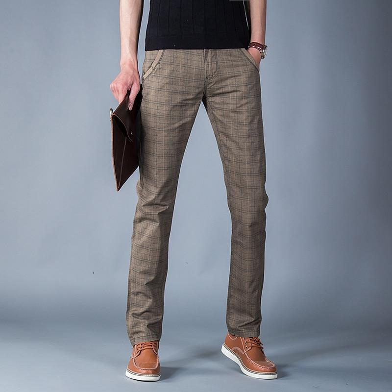 Achetez en gros pantalons a carreaux hommes en ligne a des for Pantalon carreaux homme