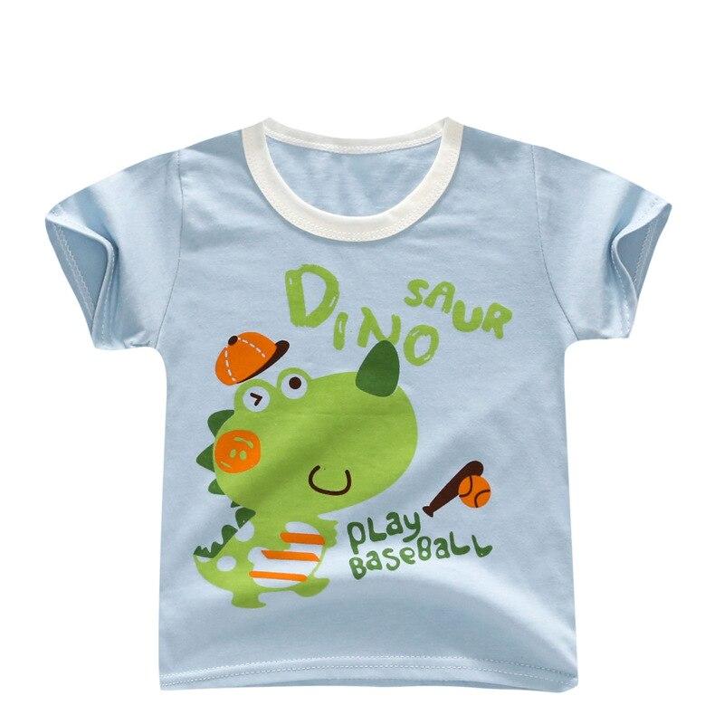 Bibicola 2019 Baby Jungen T-shirt Cartoon Sommer Kleidung Für Infant Toddle Baumwolle Tops Outfits Mode Baby Tees Neugeborenen Kostüm